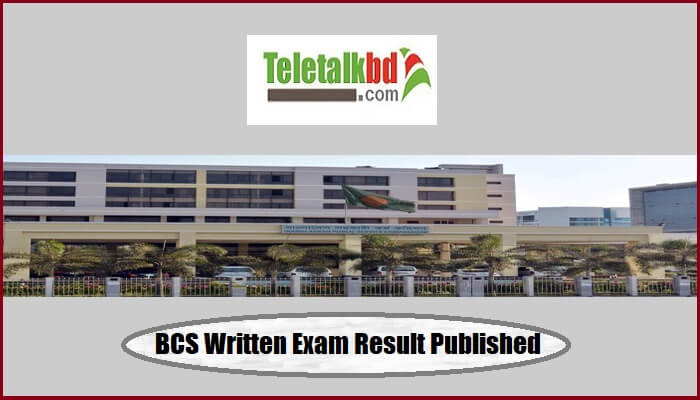 BCS Written Exam Result