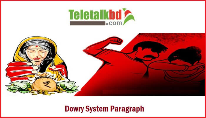 Dowry System Paragraph