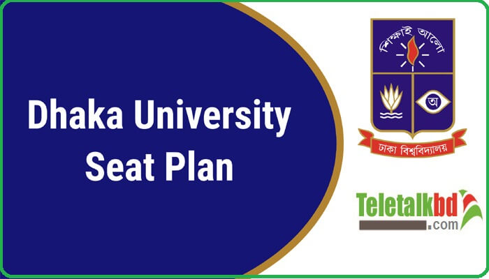 Dhaka University Admission Seat Plan All Unit